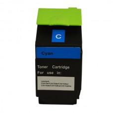 Remanufactured Lexmark CX310 CX410 CX510 80C8SC0 Cyan Toner