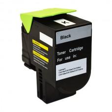 Remanufactured Lexmark CX310 CX410 CX510  80C8SK0 Black Toner