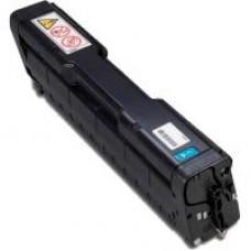 Cyan Toner Cartridge for Ricoh (406060) SPC221N, SPC222DN, SPC220N, SPC222SF, SPC220S, SPC240