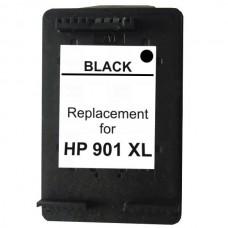 #901XL Black  Remanufactured Inkjet Cartridge