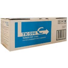 Genuine Kyocera TK-594C Cyan Toner Cartridge FS-C2026MFP FS-C2526MFP
