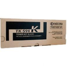 Genuine Kyocera TK-594K Black Toner Cartridge FS-C2026MFP FS-C2526MFP