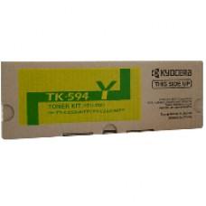 Genuine Kyocera TK-594Y Yellow Toner Cartridge FS-C2026MFP FS-C2526MFP